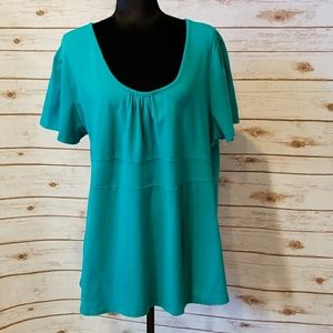 FASHION BUG TUNIC TOP SHIRT WOMENS 2X EP170